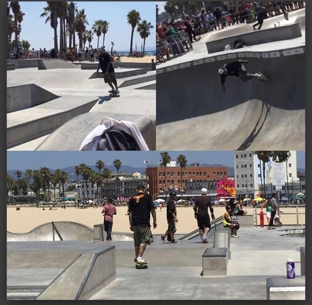 Dan skating Dogtown