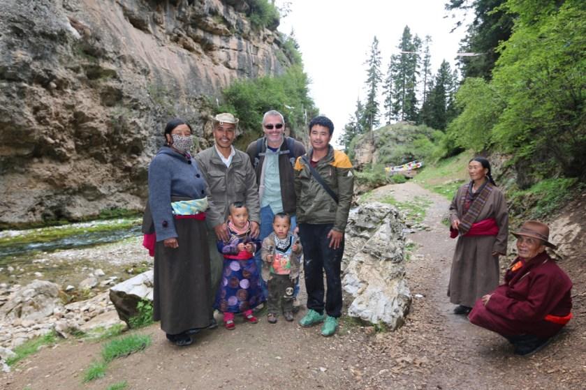 Mid fieldwork trip to buddhist temple