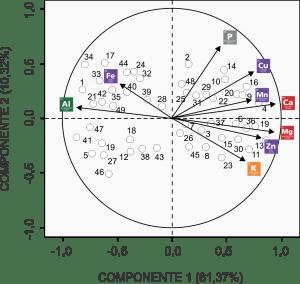 Componentes Principais 2 - Mapa Perceptual