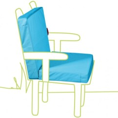 All Weather Garden Chair Overstock Parsons Outbag Topper Low Rise Cushions Abhaengen