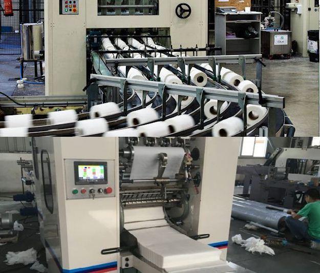 ماكينات تصنيع المناديل