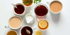 طرق تحضير الشاي