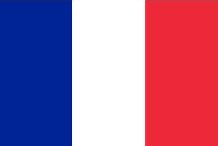 الألوان في علم فرنسا