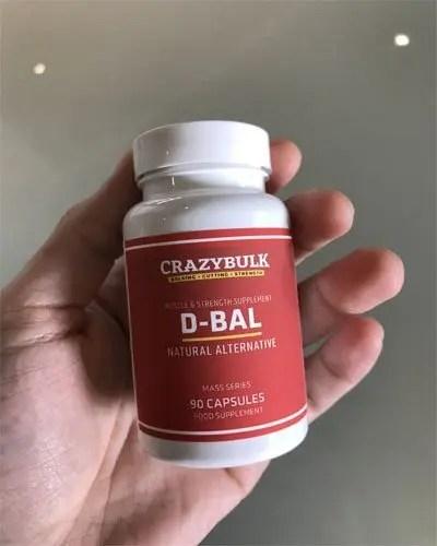 D-BAL Testosterone Booster Pills
