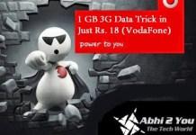 Vodafone G Internet Low Cost