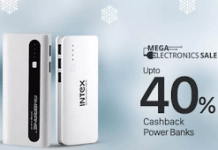 Mega electronics sale powerbanks