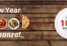 Paytm new year food bonanza