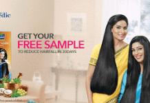 Parachute Advanced Ayurvedic hair oil free samples