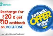 mobikwik rs cashback on rs recharge