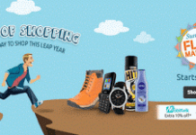 shopclues leap of shopping last sunday flea sale of feb