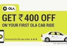 OLA rs flash ride free nearbuy