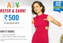 askmegrocery loot refer and get rs gift voucher