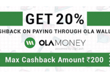 purplle ola money  cashback offer