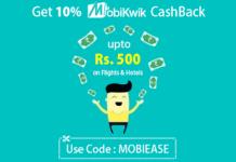 mobikwik easeMytrip  cashback offer
