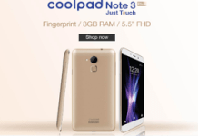 amazon coolpad note  smartphone at rs only