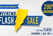 mobikwik weekend flash sale