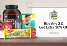 snapdeal daily needs store loot offer