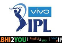 vivo ipl  predict and win contest
