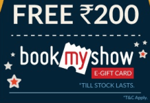 woohoo loot offer get rs bookmyshow voucher free
