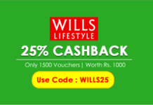 Crownit Wills lifestyle  cashback vouchers