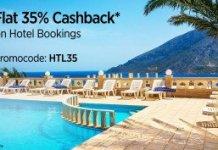 Paytm HTL  cashback on hotels