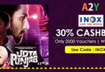 crownit inox movie vouchers at  off