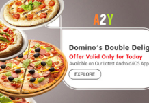 dominos pizza loot offer get  free