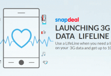 snapdeal g data lifeline
