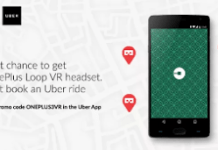 uber loot offer free oneplus vr