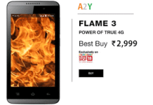 Lyf flame  true g smartphone