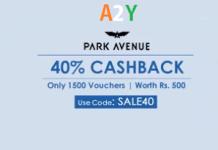 crownit park avenue sale  cashback