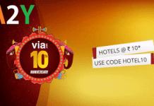 via com free rooms hotel at