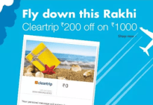 amazon cleartrip rs off