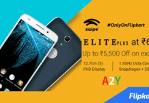 flipkart excluisve swipe elite plus at  only