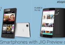 lyf new mobiles launch on flipkart
