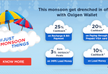 oxigen monsoon loot offer