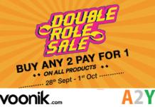 voonik double role sale