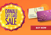 bookmyshow diwali gift card sale free amazon loot