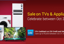 flipkart festival big appliances sale