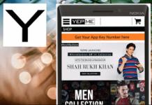 yepme mobile app shopping fashion stuff online refer and earn