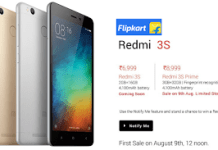 flipkart redmi s prime sale th august