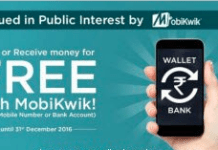 mobikwik loot free money to wallet and bank
