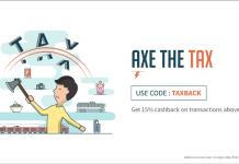 freecharge taxback banner