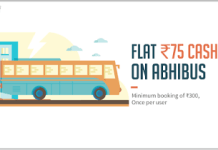 abhibus freecharge  cashback offer