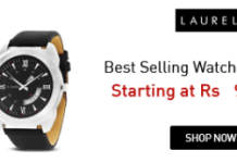 laurel watches at Rs  only amazon