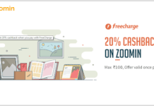 zoomin freecharge loot offer