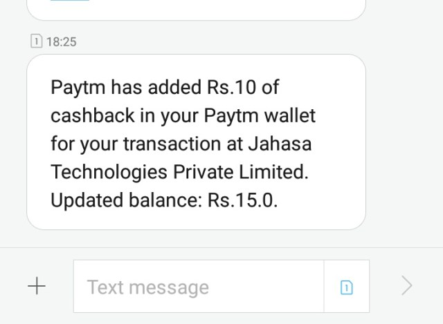 Paytm cash loot