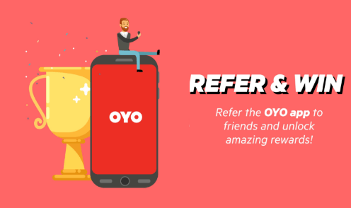 OYO Rupee Refer & Earn- Get Rs 200 on Sign Up + Rs 25/Refer (100% Usable)