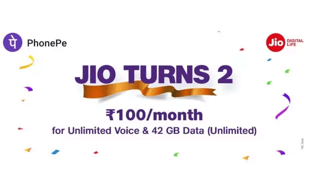 Reliance Jio New Recharge Offer