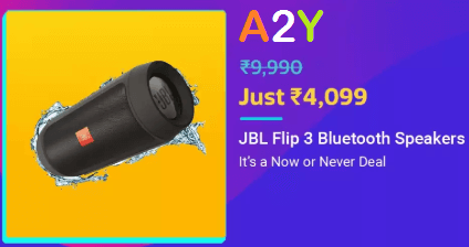 Flipkart JBL Flip 3 Blutooth Speakers